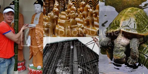 Kek Lok Si collage