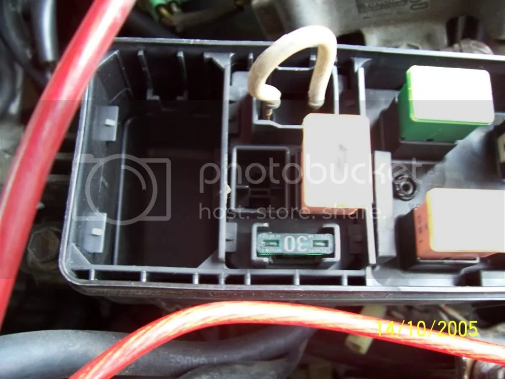 medium resolution of box but when i open up my fuse box the esc