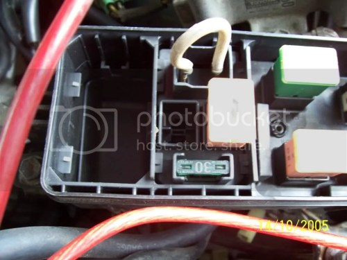 small resolution of box but when i open up my fuse box the esc