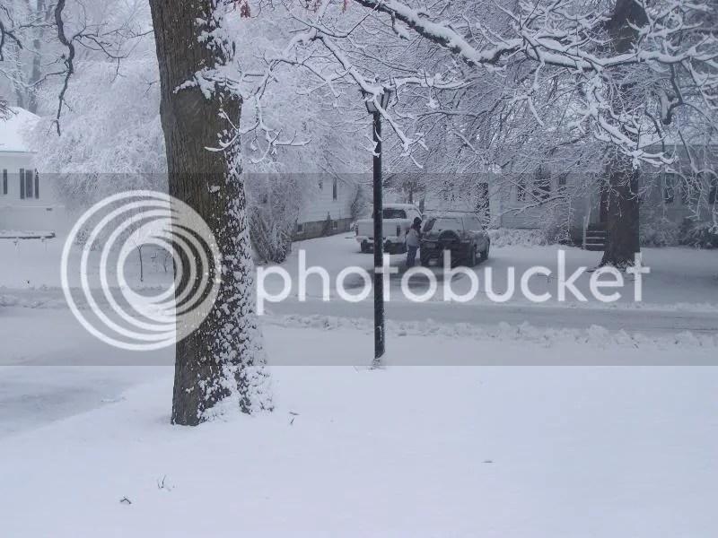 FREAKIN SNOW!