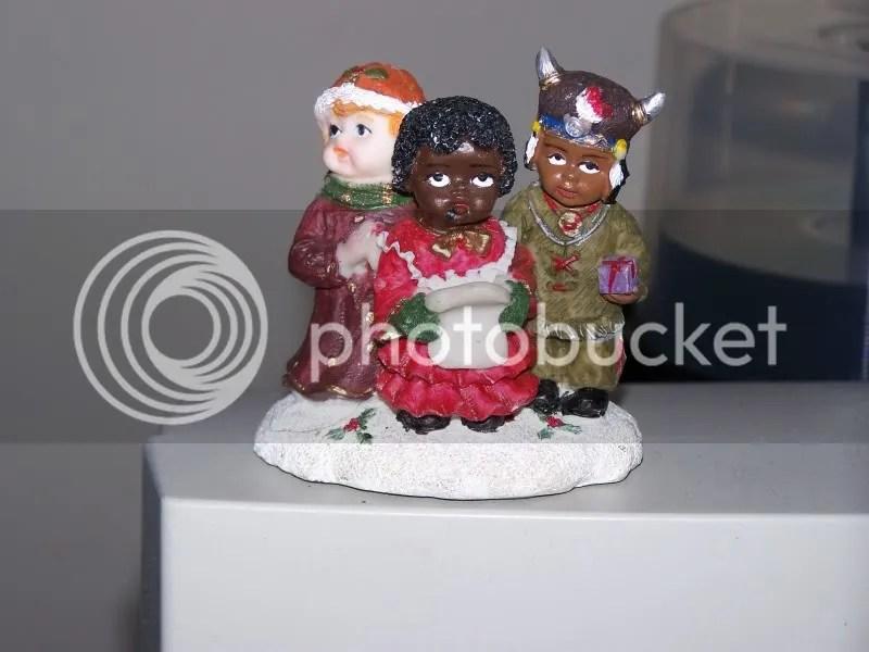 Multicultural carolers!