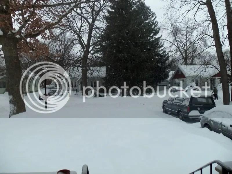 stupid snowpocalypse!