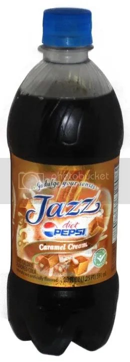 Diet Pepsi Jazz Caramel Creme (Borrowed from The Impulsive Buy)