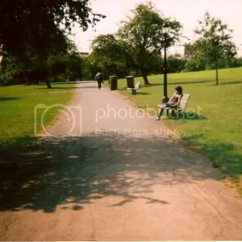 Girl on Primrose Hill, 2008