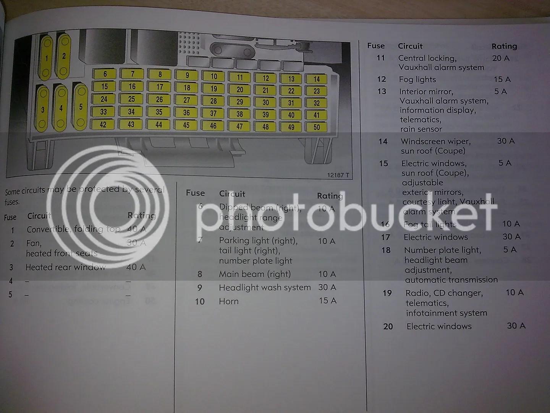 Opel Astra F Fuse Box Wiring Diagram For Professional G Engine Todays Rh 17 8 9 1813weddingbarn Com