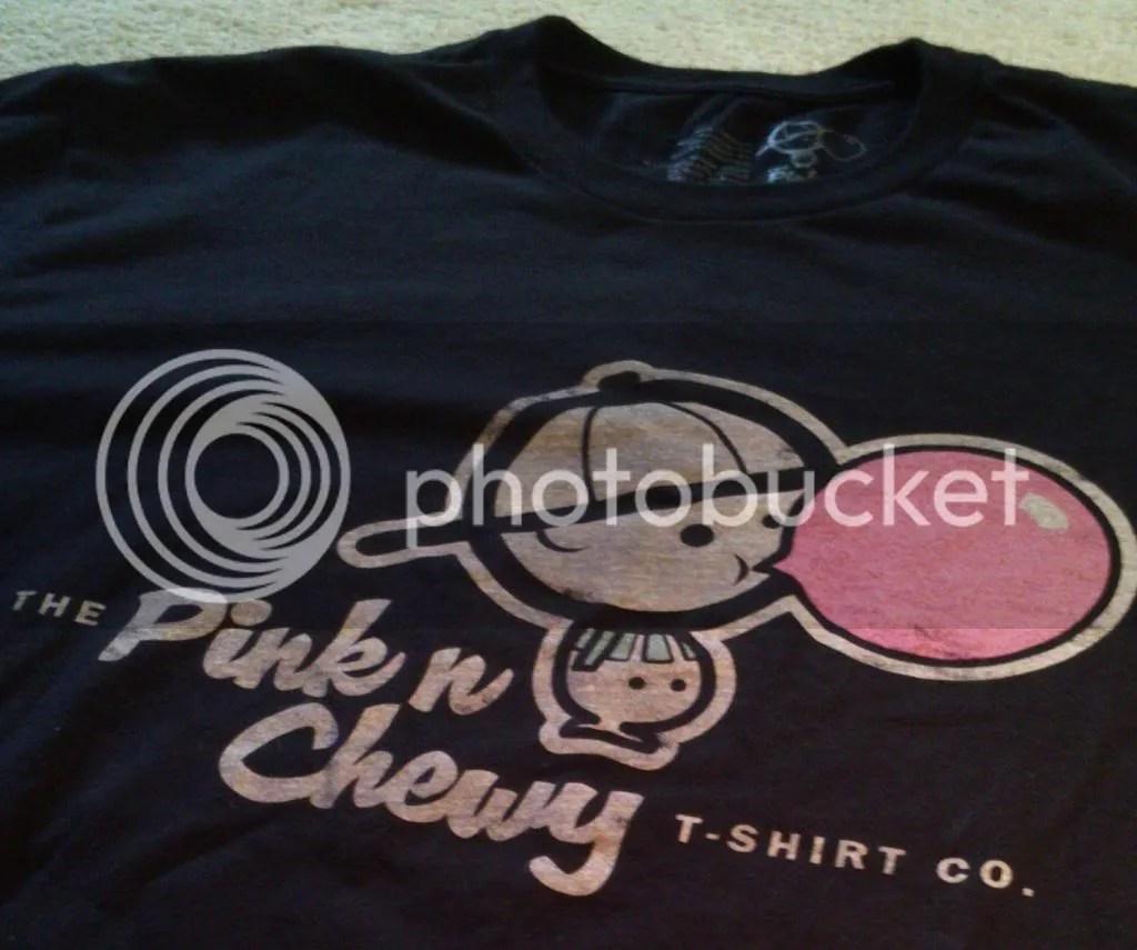 Pink 'n' Chewy Logo T-Shirt