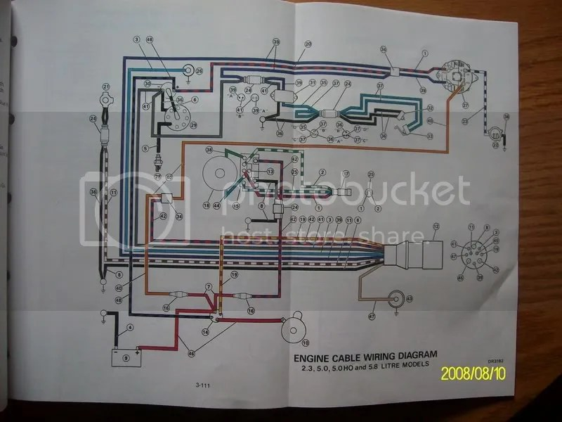 Control Circuit Diagram Moreover Mercruiser Alternator Wiring Diagram