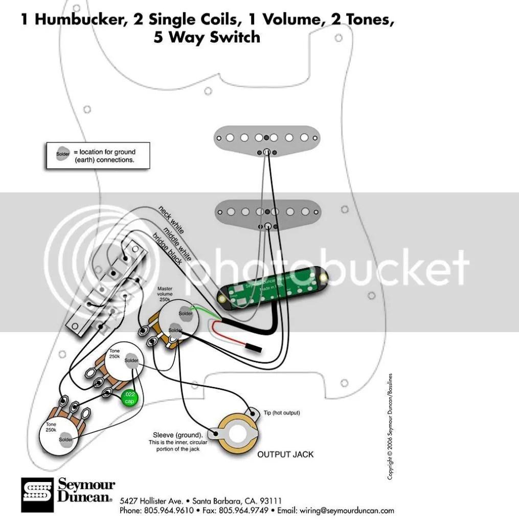 H-S-S wiring (no strat)
