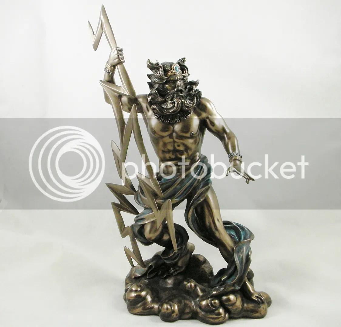 Zeus - Statue Ancient Greek Mythology Father Of Gods