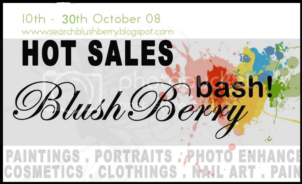 BlushBerry promotions
