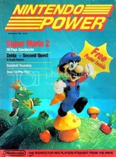 The Cover of Nintendo Power #1