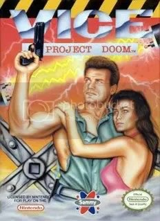 US Cover Art for Vice: Project Doom