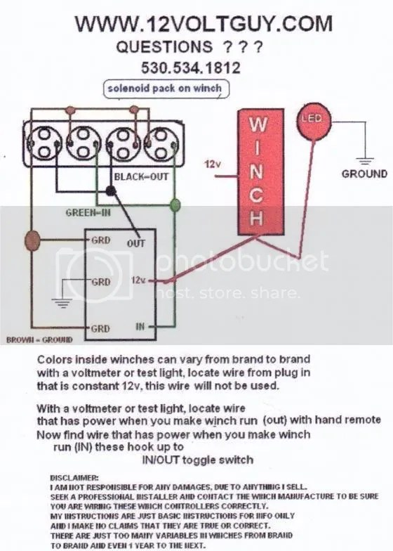 Winch Wireing : winch, wireing, Winch, Wiring, Diagram, Portal