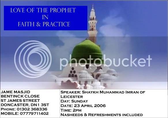 Love of the Prophet