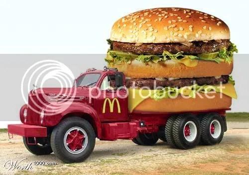 big Mac(k) truck