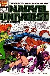 Marvel Handbook #8