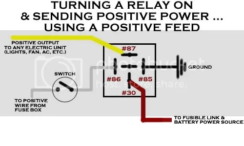 12v Relay Switch Wiring Diagram How To Wire A 4 Pin Relay Wiring