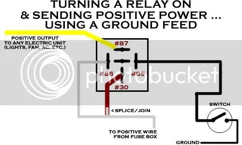 positive ground wiring diagram