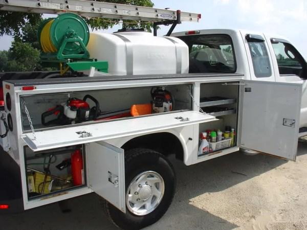 lawn specialties utility body