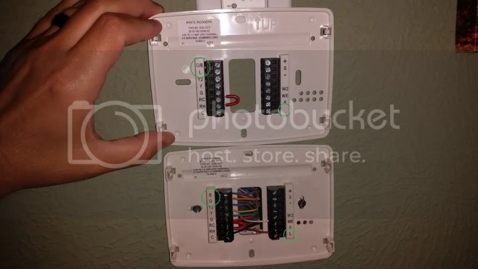 replacing thermostat help  the garage journal board