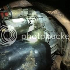 2004 Ford Explorer Starter Wiring Diagram 1997 Dodge Dakota Ignition Odd Coolant Leak Oil The Ranger Station