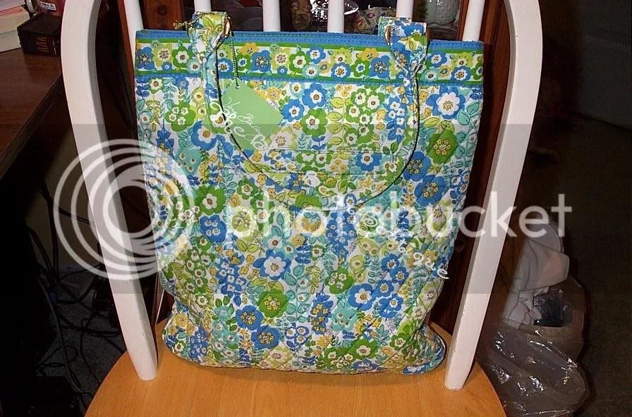 Vera Bradley Limited Edition English Meadow Slim Tote Bag