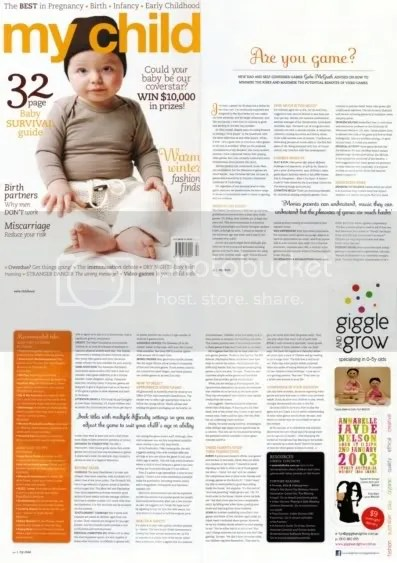 Kids & Videogames - My Child  - Winter 2011 edition