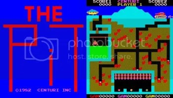 The Pit - a very rare & difficult arcade game