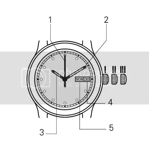 How To Set The Day & Date On An Analog Watch...