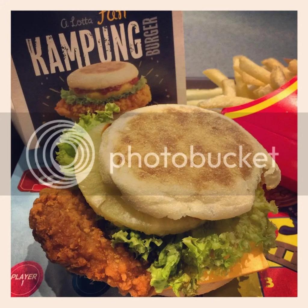McDonald Kampung Burger