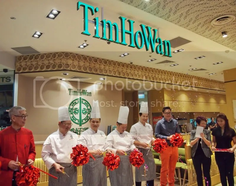 Tim Ho Wan Grand Opening Bedok Mall Ribbon Cutting