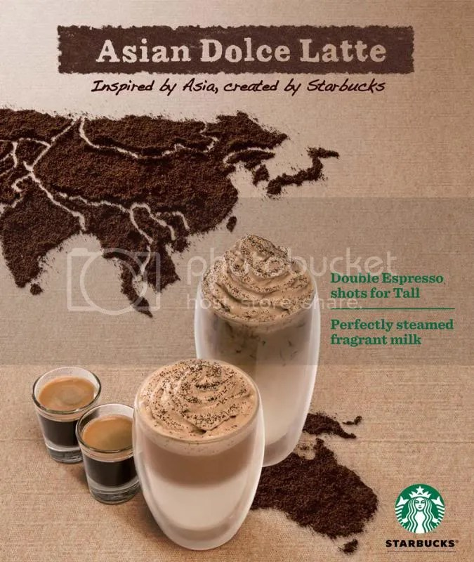 Asian Dolce Latter Starbucks Singapore