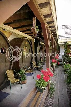 Ruang hotel barel anggur