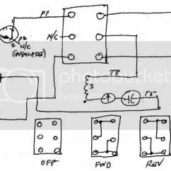 Reversing Drum Switch Wiring Diagram Volvo Diagrams Xc90 Great Installation Of Rh Practicalmachinist Com Reversible Ac Motor