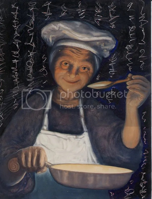Soup Kitchen Witch by Rick Mobbs