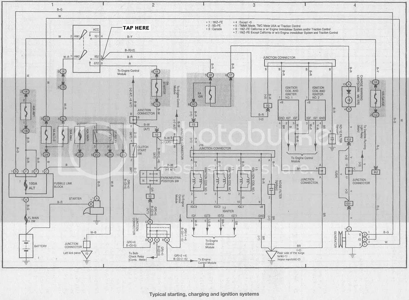 Toyota Previa Radio Wiring Diagram Diagrams