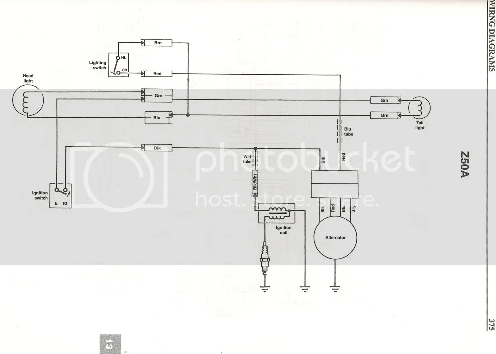 1977 ct70 wiring diagram boat trailer 5 way wire 1971 honda z50 diagrams schematic data 1969 50