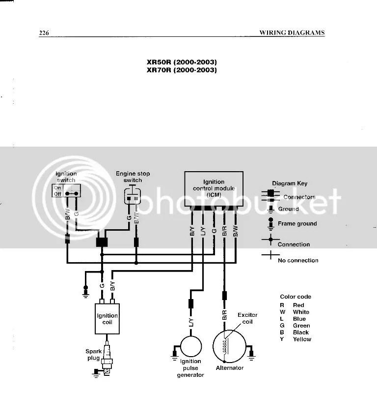 crf/xr 50 wiring help!