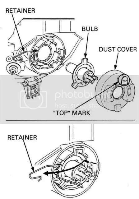 Honda pilot headlamp diagram