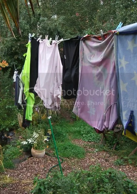 rain & laundry