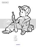 Baseball theme activities and printables for Preschool