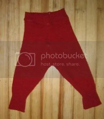 Red Wool Longies