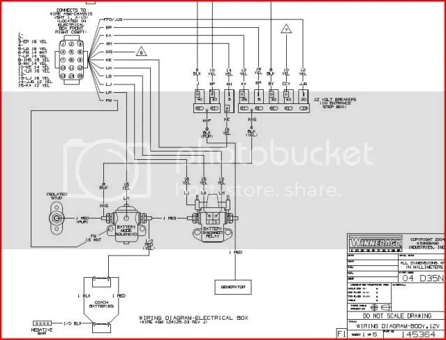2014 winnebago wiring diagram