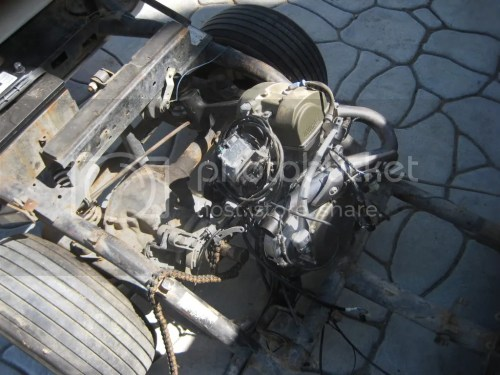 small resolution of 1978 harley motor swap to a crf 450cc motor pics inside gearing help