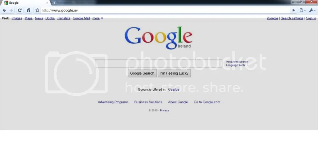 Google Chrome - a minimalist's dream, my nightmare
