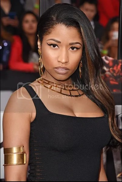 Nicki Minaj MTV Movie Awards 2014, Nicki Minaj Makeup