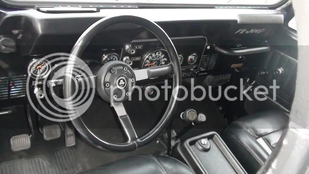 1984 Jeep Cj7 Dash