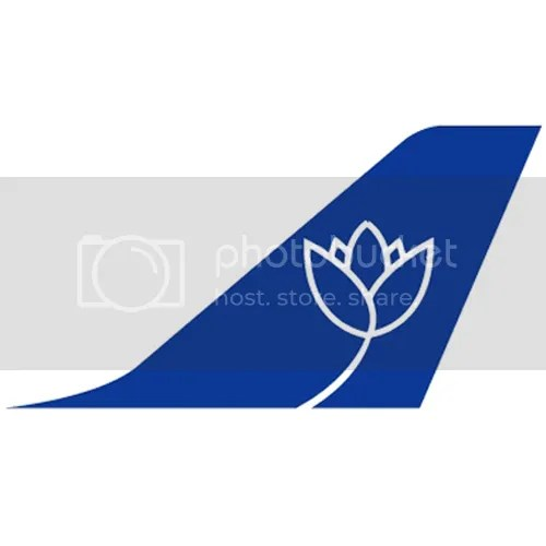 For the relevant blog post, please click: https://ideasinspiringinnovation.wordpress.com/2010/01/12/logo-corporate-identity-the-lotus-airline-logo-separated-at-birth/