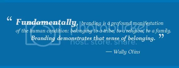 Quotes + Thoughts | Olins on brands, sense of belonging, and
