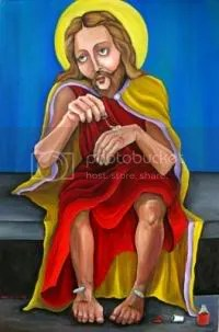 Jesus Does His Nails by Dana Ellyn